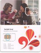 Croatia, Mint SIM VIPnet  Card Type 1 - Croatie
