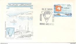TRATADO ANTARTICO ESTACION CIENTIFICA ALMTE BROWN 10º ANIVERSARIO TRATADO ANTARTICO  F.D.C. 1966  ARGENTINA - Postzegels