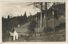 AK  Kalvarienberg Bei Mittenwald Mit Wetterstein - Mittenwald