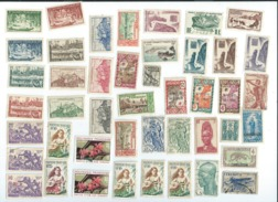 TIMBRES COLONIES FRANCAISE Differend Etats ????? - Timbres
