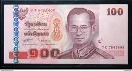 Thailand Banknote 100 Baht Series 15 P#114 SIGN#80 UNC - Thailand