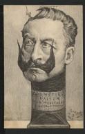Illustrateur ORENS -  Cosmétique KAISER Pour Moustache Récalcitrants - Orens