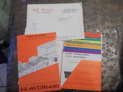 Pont De Liaison - Chargement - Automanu - Sens - 89100 - - Old Paper