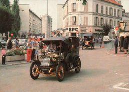 CPSM  AUTOMOBILES TAXI DE LA MARNE à GAGNY Place FOCH - Taxi & Carrozzelle
