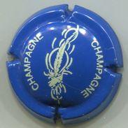 CAPSULE-677-CHAMPAGNE Bleu & Crème - Champagne