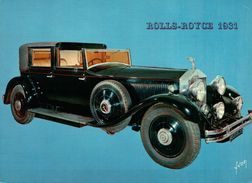 CPSM  AUTOMOBILES ROLLS ROYCE 1931 TYPE PHANTOM II - Taxi & Carrozzelle