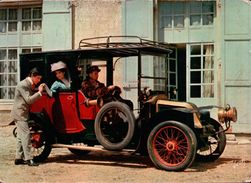 CPSM  AUTOMOBILES RENAULT COUPE 1906 - Taxi & Carrozzelle