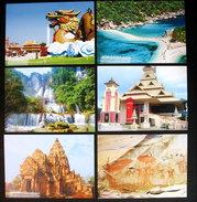 Thailand Postcard Prepaid 2013 6 Baht Thai Landmark (22) - Tailandia