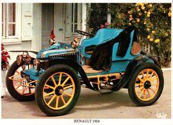CPSM  AUTOMOBILES RENAULT 1904 - Taxi & Carrozzelle