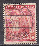 PGL - POLOGNE Yv N°406 - Oblitérés