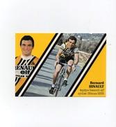 Cyclisme Bernard Hinault équipe Renault Elf Cycles Gitane 1982 - Ciclismo