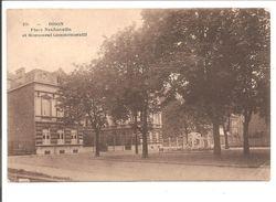 Dison. Place Neufmoulin Et Monument Commémoratif. AVEC ÉCOLE - Dison