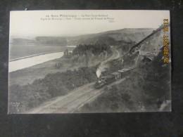 Cpa SENS (89) Le Petit St  Gothard Ligne Montargis - Sens -Train Sortant Du Tunnel De Paron - Sens