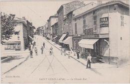 69 - ST. GENIS LAVAL - LA GRANDE RUE - France
