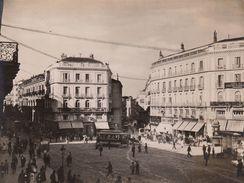 Photo Ancienne Espagne Madrid Puerta Del Sol - Places