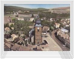 88) Corcieux.- (Vosges) En Avion Au Dessus De... L ' Eglise  - (correspondance De 1961) - Corcieux