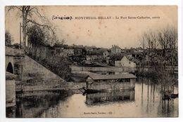 - FRANCE (49) - CPA Ayant Voyagé MONTREUIL-BELLAY 1911 - Le Port Sainte-Catherine, Entrée - Edition Dando-Berry 622 - - Montreuil Bellay