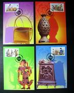 Thailand Maximum Cards 2003 Bangkok World Philatelic Exhibition 3rd - Thailand