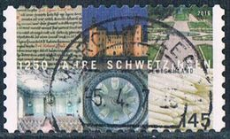 2016  1250 Jahre Schwetzingen  (selbstklebend) - Used Stamps