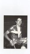 Cyclisme Philippe Boyer Vice-champion Du Monde Amateur 1985 Du Kilomètre Dijon Tirage 300 Ex. - Cycling