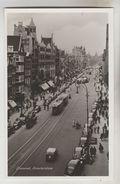 CPSM AMSTERDAM (Pays Bas-Noord Holland) - Damrak (Avenue Reliant Le Dam à La Gare Centrale) - Amsterdam