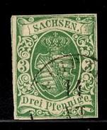 Saxe YT N° 6 Oblitéré. Premier Choix. A Saisir! - Sachsen