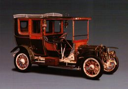 CPSM  AUTOMOBILES BRASIER COUPE CHAUFFEUR 1908 TYPE KD - Taxi & Carrozzelle