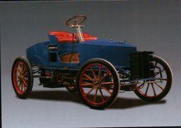 CPSM  AUTOMOBILES SERPOLLET BIPLACE COURSE 1902 TYPE H - Taxi & Carrozzelle