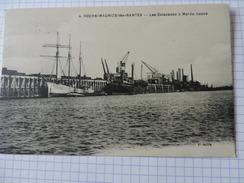 ROCHE-MAURICE-lès-Nantes - Les Estacades à Marée Basse N°644 - Nantes