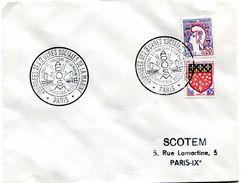 Bureau Temporaire Journées Des Oeuvres Sociales De La Marine - Paris 1 Et 2 Décembre 1962 - R 5278 - Marcophilie (Lettres)