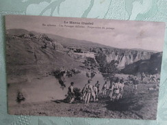 Campagne Du Maroc ; Passage Difficiles - Maroc