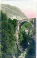 PIEMONTE ?  Ponte Ad Arco Sul Torrente  Torino Per Conzano 1907 - Cartoline