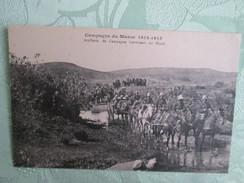 Campagne Du Maroc ;  Artillerie De Campagne Traversant Un Oued - Maroc
