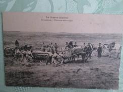 Campagne Du Maroc ;   Charrette Embourbee - Maroc
