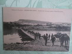 Colonne De Marakech ; Mechra Ben Abbou ; Artillerie De Montagne Passant L Oued Oum R Bia - Marrakech