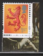 Great Britain Definitive Stamp Celebrating Scotland From 2008 With 2 Phosphor Bands - Regional Issues