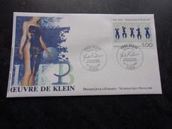 FRANCE (1989) YVES KLEIN - FDC