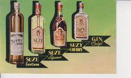 DISTILLERIE DE LA SUZE  -  METZ Rue Des Jardins  - - Werbepostkarten