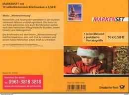 Markenheftchen Bund Postfr. MH 95 Winterstimmung MNH ** - [7] Repubblica Federale