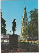 Kristiansand - Parti Fra Parken - Statuen/Statue Poet Henrik Wergeland  - (Norge/Norway) - Noorwegen