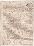 Manuscrit Cachet Généralité LIMOGES 1 Sol 3 Deniers 27/11/1796 Haute Vienne - Cachets Généralité