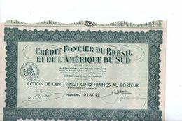 Crédit Foncier Du Brésil Et De L' Amérique Du Sud - Industrie