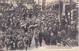 BE17- ROUEN EN SEINE MARITIME FETES NORMANDES ACADEMIE CULINAIRE DE BRUXELLES    CPA  CIRCULEE - Rouen