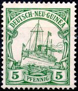 German New Guinea,1900,Mi#8,MLH *,as Scan - Colony: German New Guinea