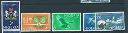 Nigeria Set Sg106 Independence Anniversary. Mnh - Nigeria (1961-...)