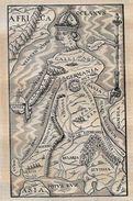 Revue Magasin Pittoresque Novembre 1849 Carte Maps Lithuanie Lithuania Pologne - 1800 - 1849