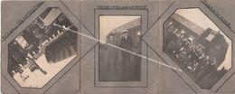 TRIPTIEK 3 FOTO'S / FEEST EUCHARITISCHE KRUISTOCHT (EK NORBERTIJNEN) AFDELING OUDE GOD / GEGEVEN TE ZANDHOVEN DEC 1930 - Mortsel