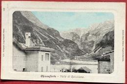 CHIUSAFORTE VALLE DI RACCOLANA / UDINE - Andere Steden
