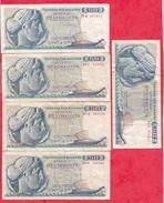Grèce 20 Billets 10 De 50 Et 10 De 100 Drachmai Dans L 'état - Griekenland