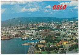 Oslo - Panorama, Harbour, City -  (Norge/Norway) - Noorwegen